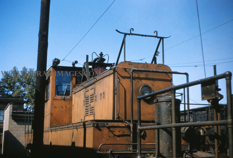 ITS 75 - Aug 23 1955 - trolley motor 53 at Granite City ILL