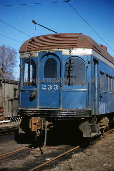 ITS 171 - Mar 20 1956 - rear of official car 233 in Edwardsville ILL