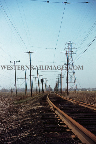 ITS 186 - Mar 27 1956 - looking S on mainline 1 mile N of Granite City ILL