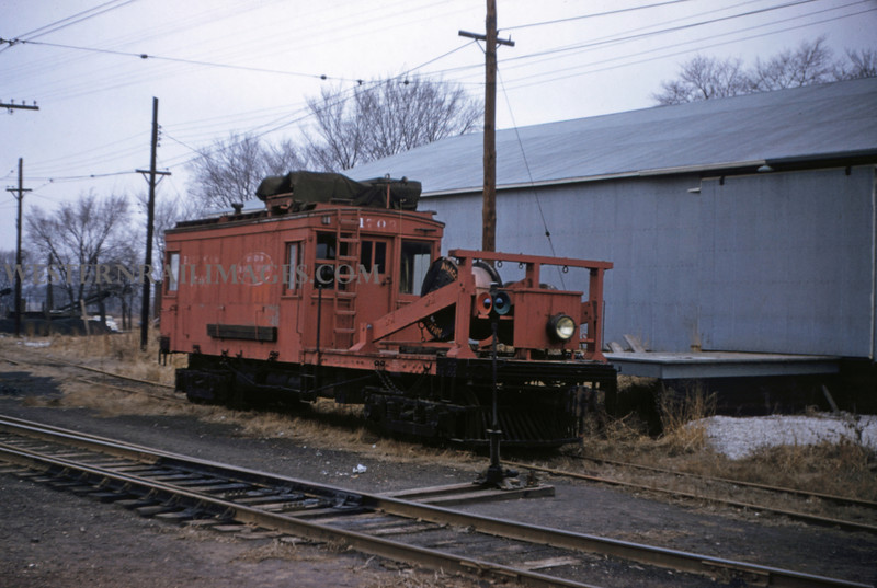 ITS 108 - Feb 19 1956 - linecar 1703 at Edwardsville ILL
