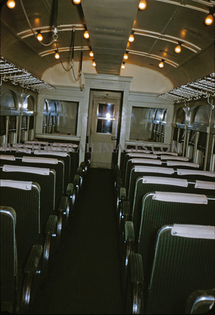 ITS 27 - Oct 24 1954 - interior of trailer 528 - St Louis MO