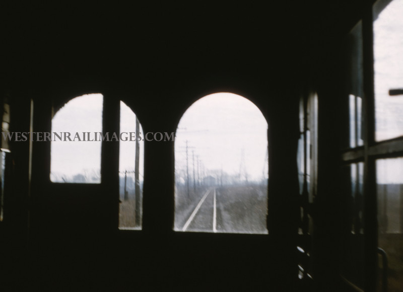 ITS 60 - Jan 2 1955 - scene out front window of car 203 from Champaign to Decatur ILL