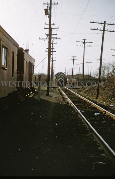 ITS 165 - Mar 9 1956 - Alco GE sw 706 at LeClaire interlocking Edwardsville ILL