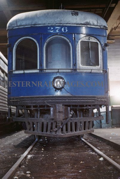 ITS 144 - Mar 4 1956 - Car 276 in 12th st Terminal St Louis MO