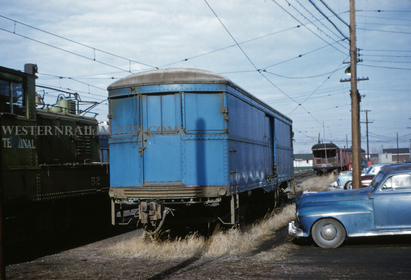 ITS 42 - Jan 2 1955 - Baggage Car No 603 express car - ex C7LE -  @ Springfield ILL