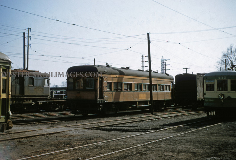 ITS 156 - Mar 9 1956 - Car 280 in Granite City ILL