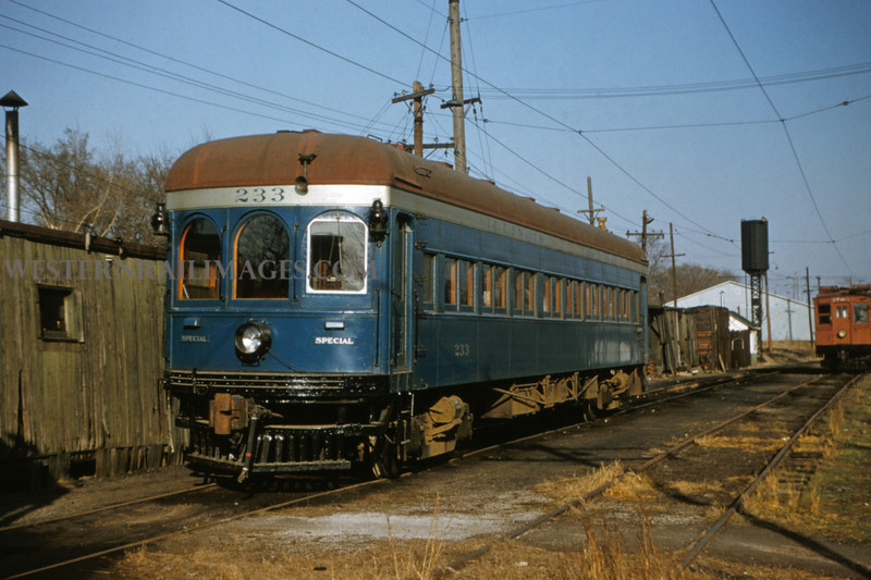 ITS 160 - Mar 9 1956 - official car 233 @ Edwardsville ILL