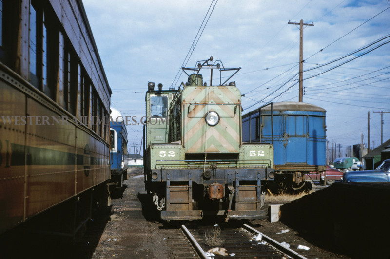 ITS 41 - Jan 2 1955 - switcher No 52 at Springfield ILL