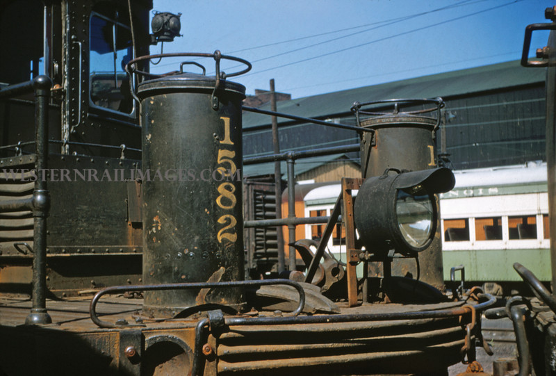 ITS 74 - Aug 23 1955 - End of Motor 1582 @ Granite City ILL