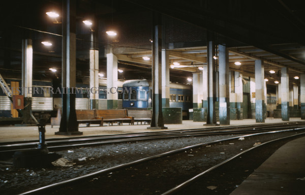 ITS 145 - Mar 4 1956 - time exposer of car 276 at 710 N 12th st terminal St Louis MO