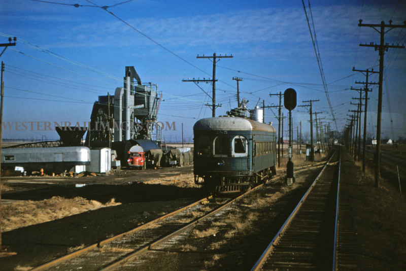 ITS 31 - Jan 2 1955 - car 285 at siding north of Worden ILL