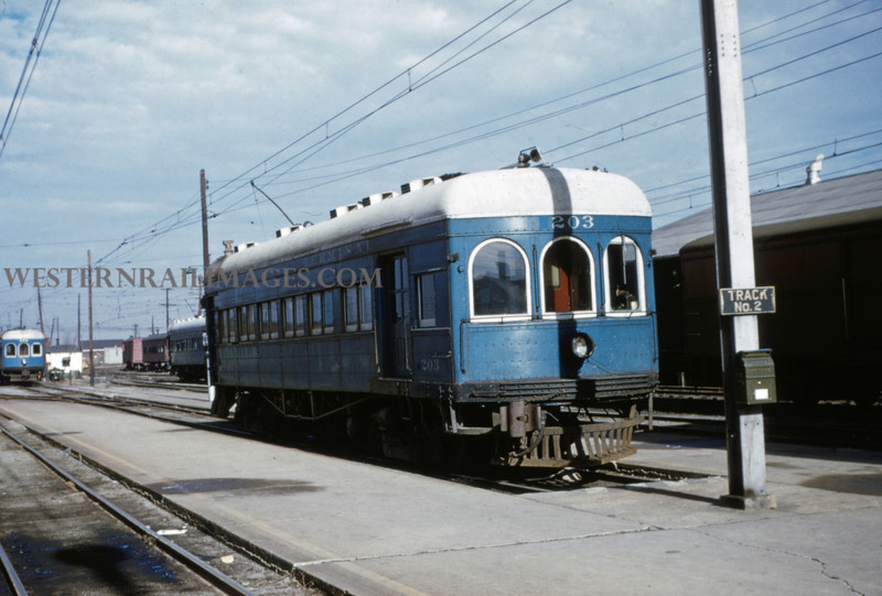 ITS 49 - Jan 2 1955 - Car 1203 (now 203) at Springfield ILL