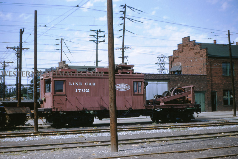 ITS 7 - Sep 19 1954 - linecar 1702 at Granite City ILL