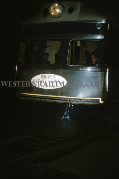 ITS 139 - Mar 3 1956 - Motor 301 on last regular run to Springfield ILL - Edwardsville ILL
