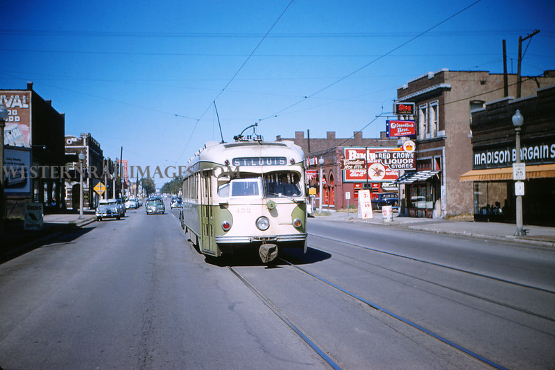 ITS 88 - Sep 11 1955 - PCC Car 452 in Madison ILL