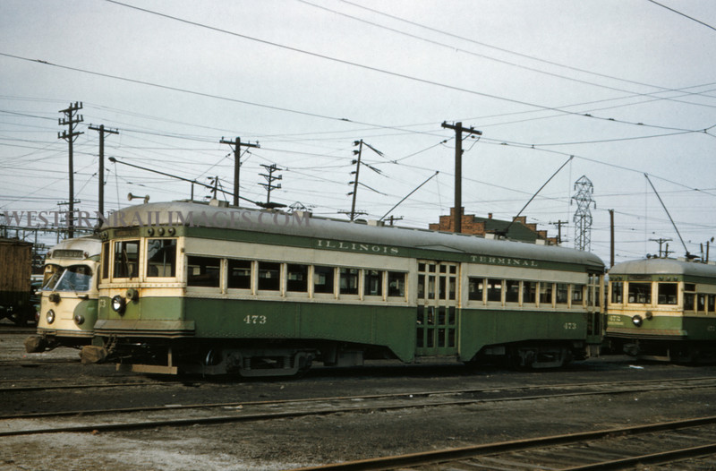 ITS 205 - Feb 20 1957 - car 473 at Granite City ILL