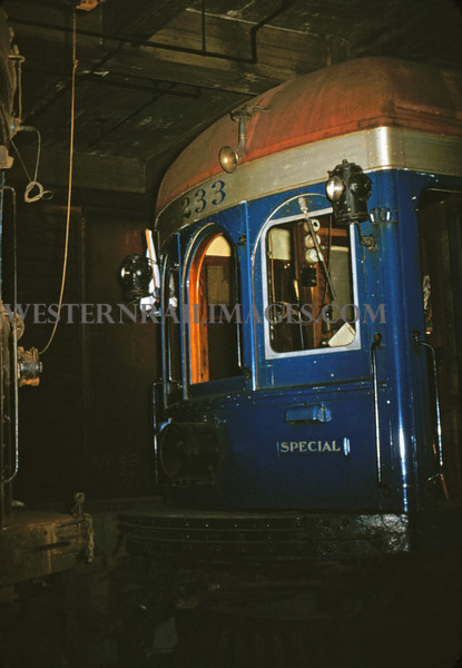 ITS 24 - Oct 24 1954 - front of car 233 at 710 N 12th street - St Louis MO