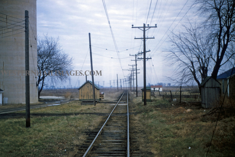 ITS 52 - Jan 2 1955 - from car 203 scene looking toward Champaign E of Decatur ILL