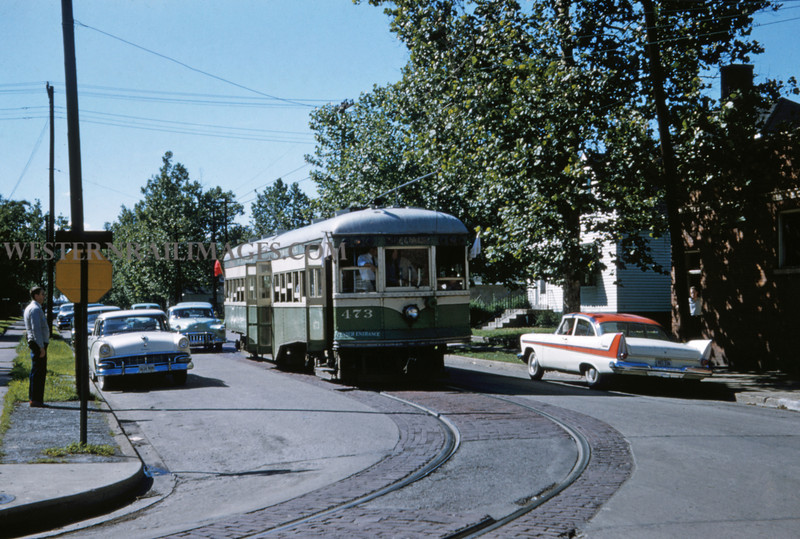ITS 221 - Jun 21 1958 - Car 473 at 23rd & Lake - Granite City ILL