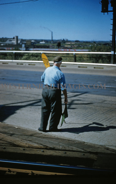 ITS 84 - Sep 11 1955 - watchman on McKinley Bridge