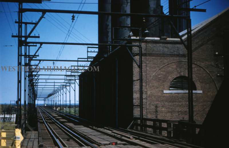 ITS 86 - Sep 11 1955 - looking east at ITC mainline leaving McKinley Bridge