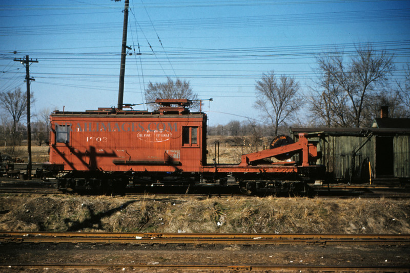ITS 169 - Mar 20 1956 - linecar 1703 at Edwardsville ILL