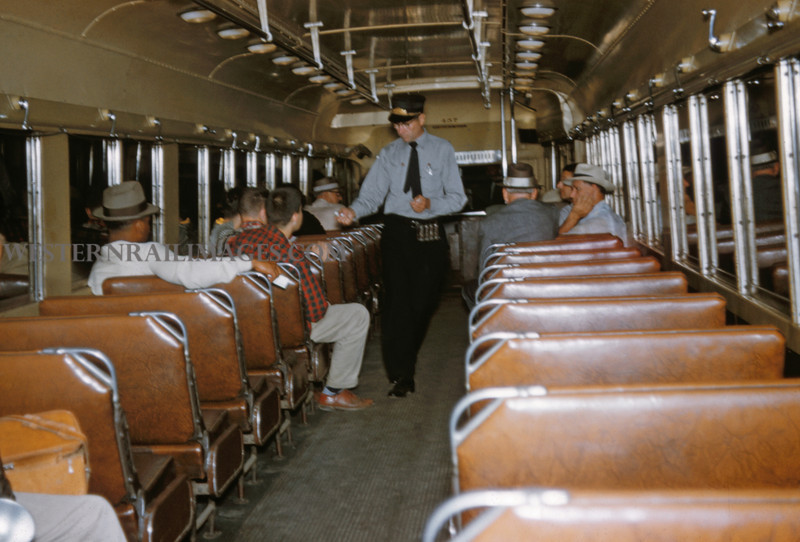 ITS 234 - Jun 21 1958 - car 457 last day of operation Granite City ILL