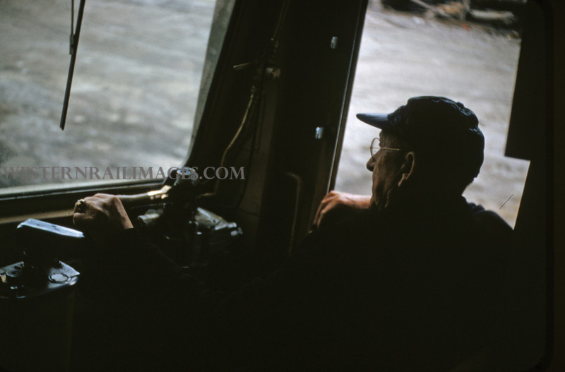 ITS 112 - Feb 19 1956 - motorman on car 301 in Madison ILL