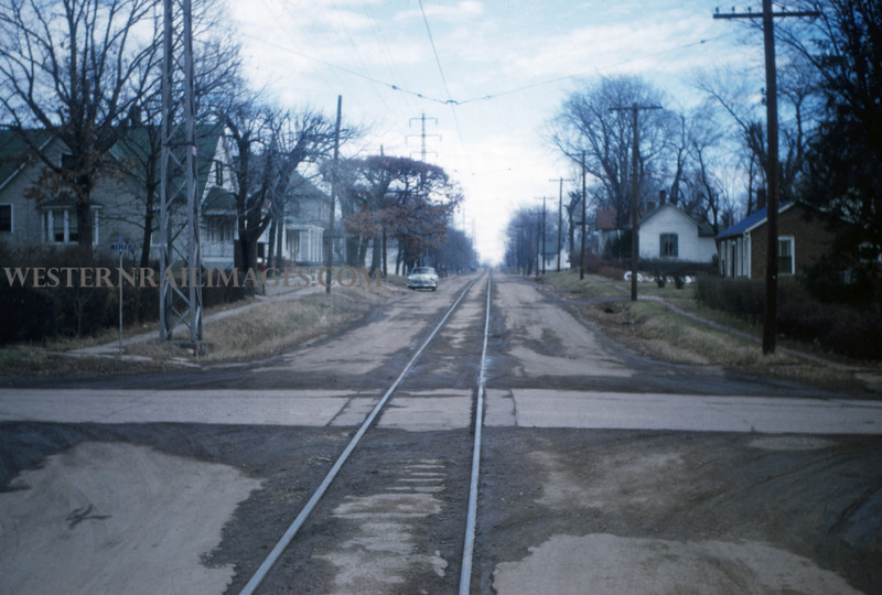 ITS 51 - Jan 2 1955 - looking toward Decatur from car 203 20 mi E of Springfield ILL