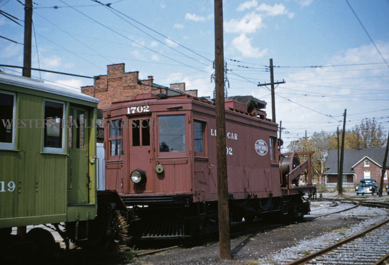 ITS 8 - Sep 19 1954 - line car 1702 - Granite City ILL