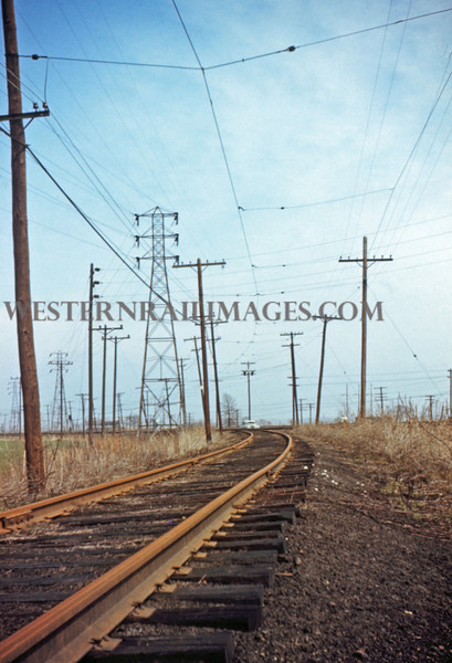 ITS 184 - Mar 27 1956 - curve leading to horseshoe siding N of Granite City ILL