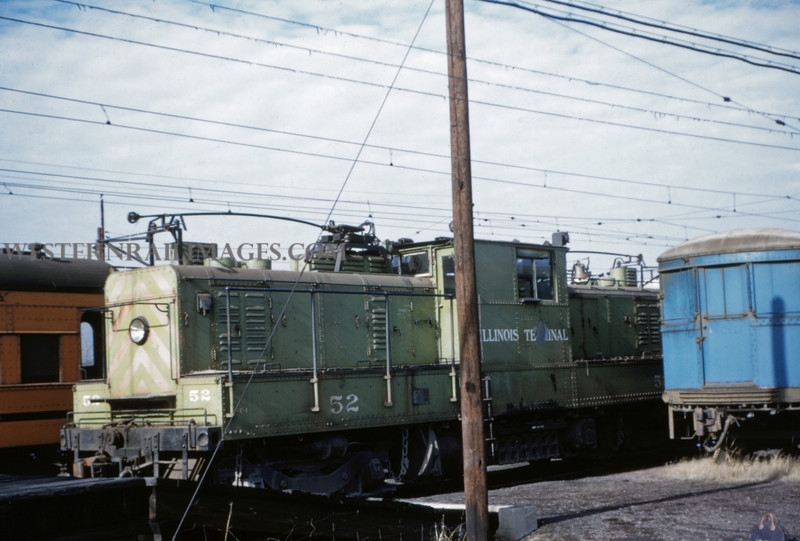 ITS 43 - Jan 2 1955 - trolley switcher @ Springfield ILL