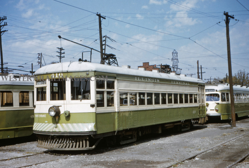 ITS 11 - Sep 19 1954 - Car 410 local - Granite City ILL