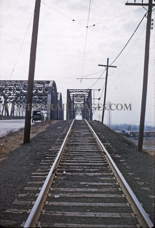 ITS 116 - Feb 22 1956 - approach to bridge looking south N of Lang