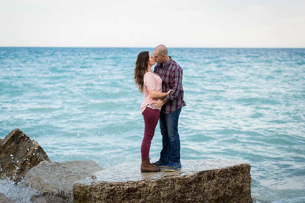 Illinois Beach State Park Engagement Photography