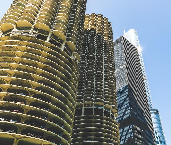 View of Chicago Illinois