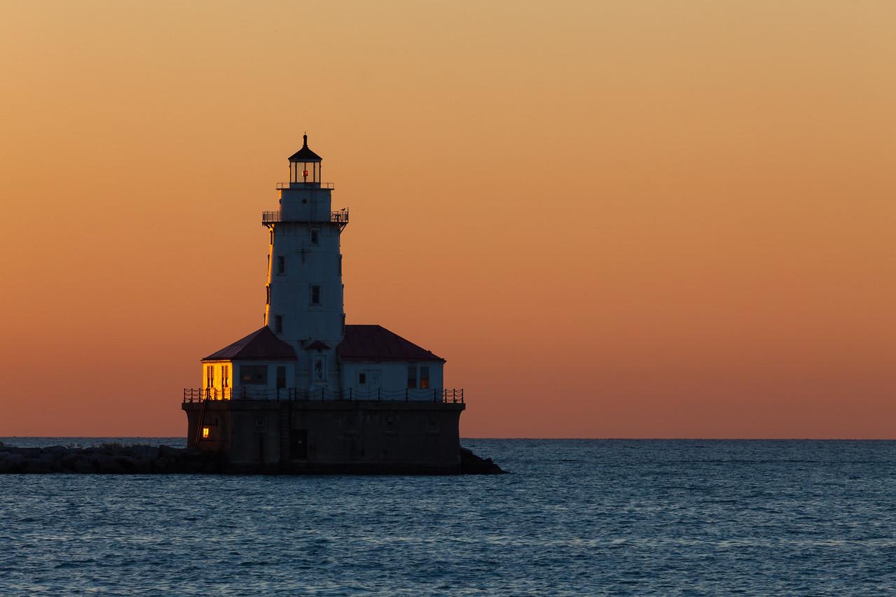 Chicago Lighthouse Morning