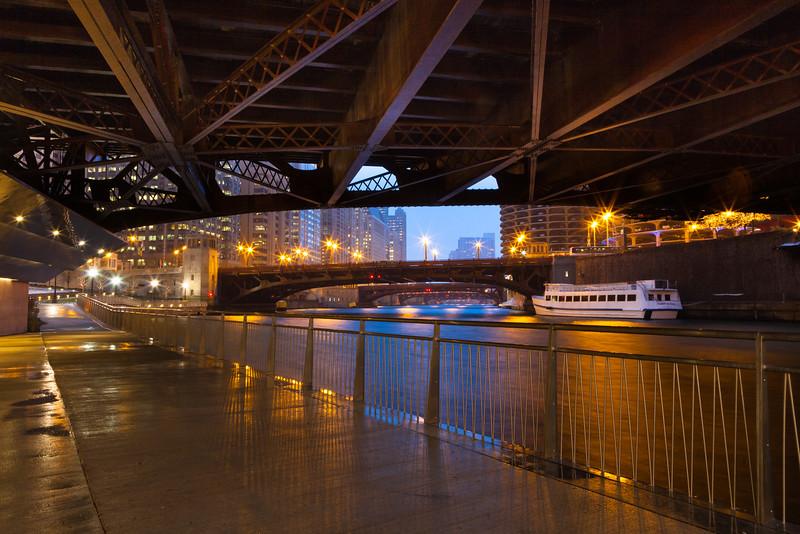 Under the State Street Bridge
