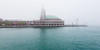 Navy Pier in Fog