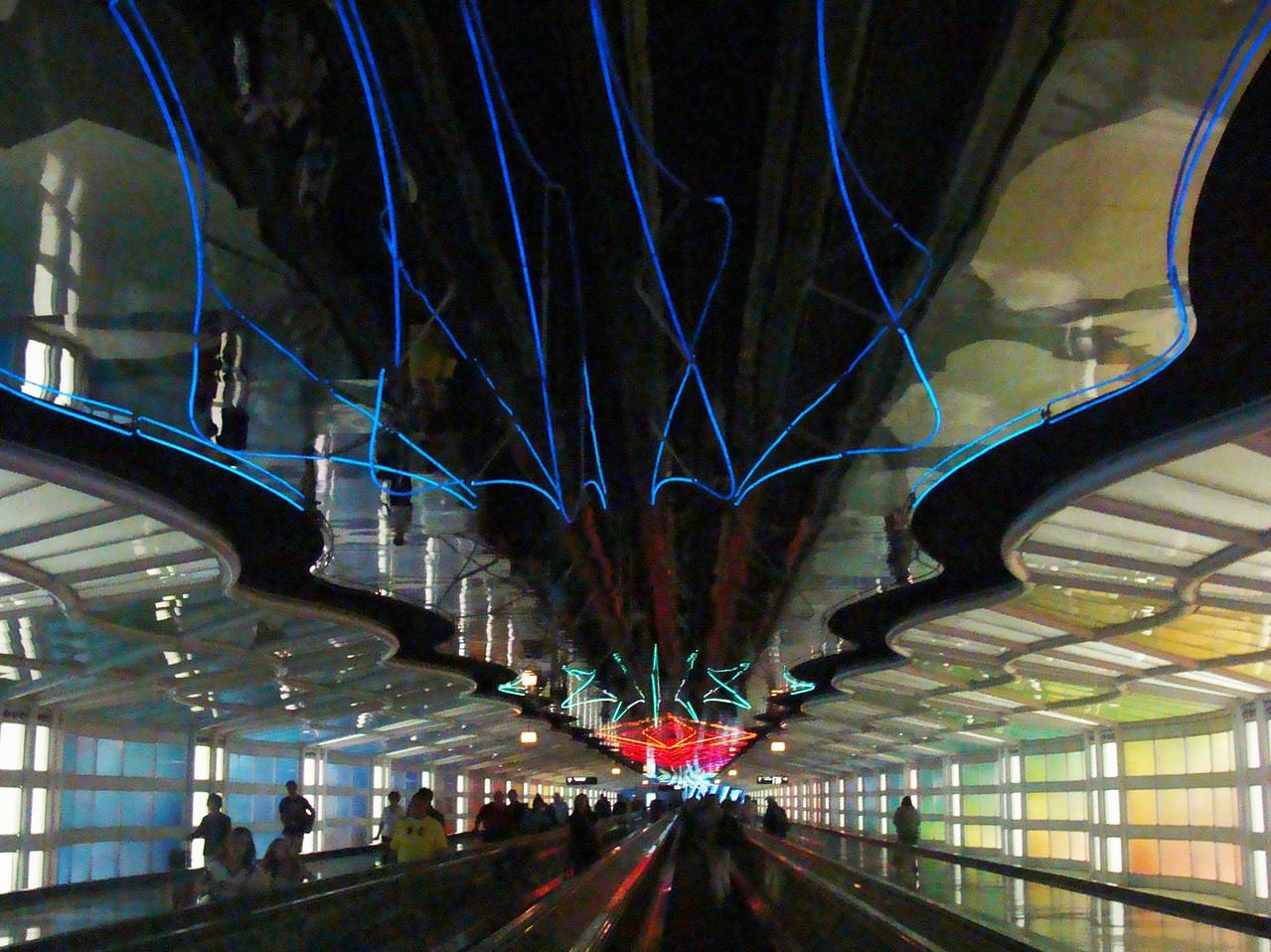 Terminal B to C Light and Sound Show