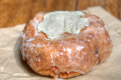 A delicious donut from Do-Rite Donuts in Chicago, IL on Monday, August 10, 2015. Copyright 2015 Jason Barnette