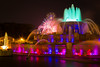 Buckingham Fountain Night Lights
