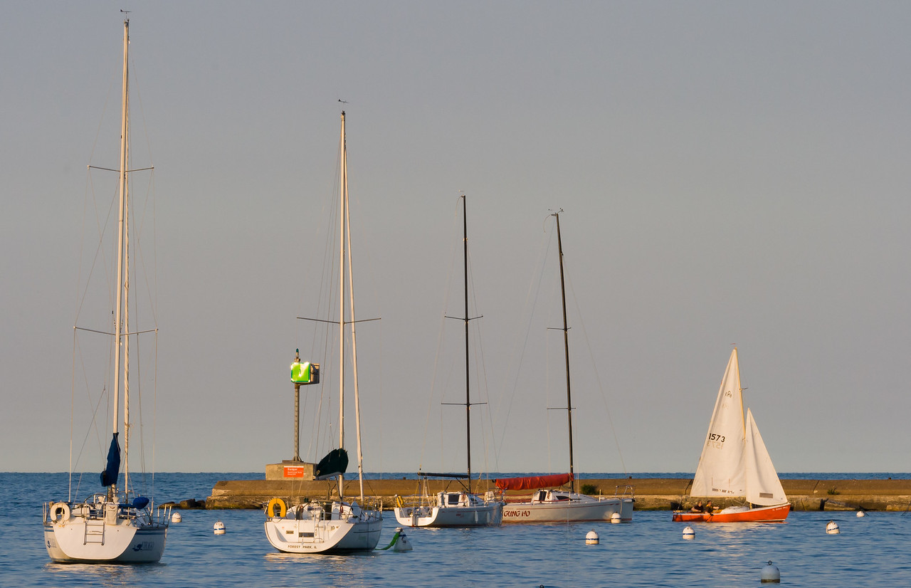 Chicago Sailboats