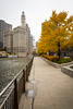 Chicago Riverwalk Fall Color