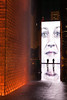 The Crown Fountain, one of the centerpieces of Millennium Park, is a popular place to play and gather during the warm months, IL<br /> <br /> IL-091004-0103