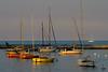 Sunset at Burnham Harbor