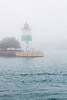 Breakwater Light in Fog