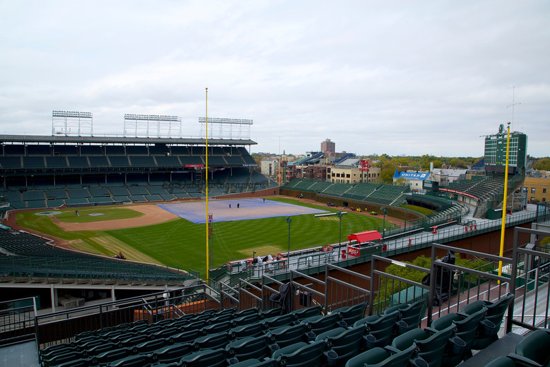 Wrigley Field from the Rooftops
