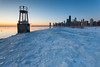 North Avenue Beach Winter Sunrise