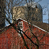 GV 006<br /> <br /> The historic 1841 barn at Greene Valley Forest Preserve, DuPage County, Illinois.